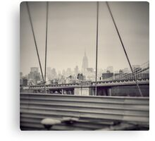 Staring at the Empire State Building Canvas Print