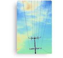 Charged Up Canvas Print