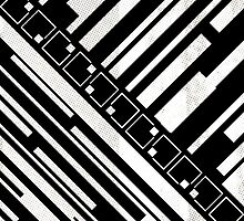 Stripes and squares II by metron