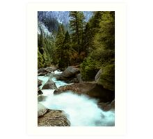 Downstream  Art Print