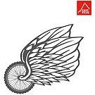 This Bike Got Wings - East Peak Apparel by springwoodbooks