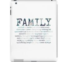 family~ iPad Case/Skin