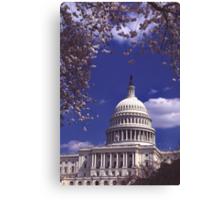Capitol 9 Canvas Print
