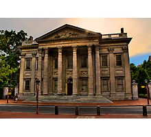 Historic Philadelphia - First Bank of the United States Photographic Print