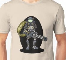 Mini Gun Riot Police Big T-Shirt