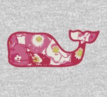 Lilly Pulitzer Whale Cherry Begonias Kids Clothes