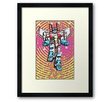 Screaming Air Commander Framed Print