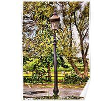 Lamp-post Poster