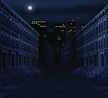 Dark Street by larryr33