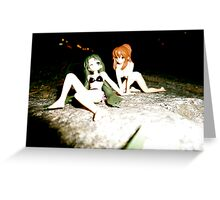 Dolls of the Night Greeting Card