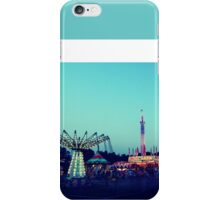 Sunset At The County Fair iPhone Case/Skin