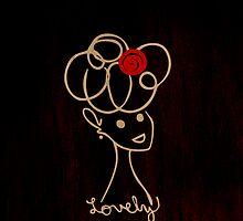 Lovely (Dark Wood) by Evangeline Than