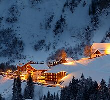 Skiing Resort by rhintl