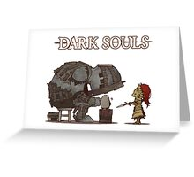 Giant Blacksmith and Ornstein Greeting Card