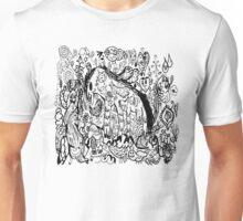 black horse Unisex T-Shirt