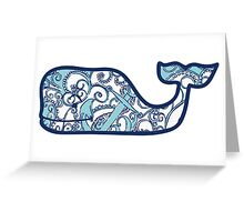Lilly Pulitzer Whale Shape Up or Ship Out Greeting Card