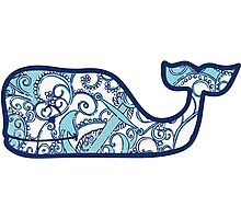 Lilly Pulitzer Whale Shape Up or Ship Out Photographic Print
