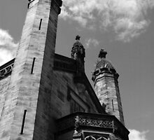 Alton Towers Castle by Graham Taylor