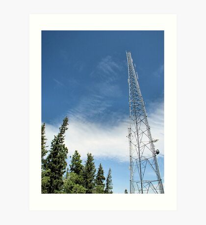 Communication Tower Art Print