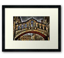Bridge of Sighs - Oxford Framed Print