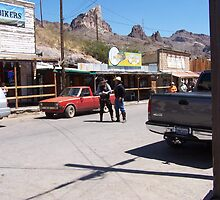 Gunfighters..Oatman USA by glennmp