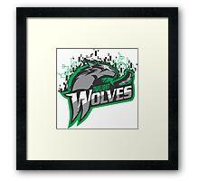Twilight Wolves Framed Print