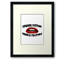 Science Fiction Double Feature Framed Print