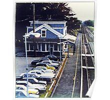 Kingston RR Station 1984 Poster