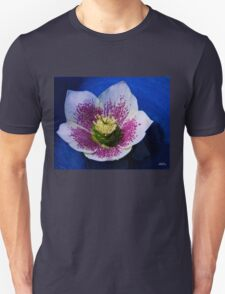 Hellebore Flower Head T-Shirt