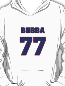 National football player Bubba Paris jersey 77 T-Shirt