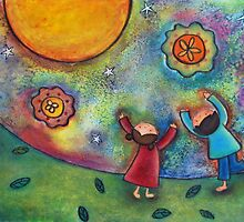 Children and the Moon  by sunnyklee