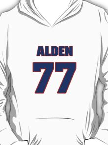 National football player Alden Roche jersey 77 T-Shirt