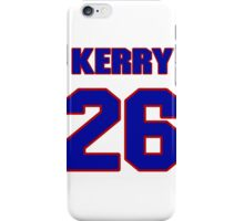 National football player Kerry Justin jersey 26 iPhone Case/Skin