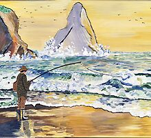 The fisherman by orna