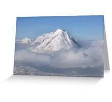 Hohe Munde - Seefeld Greeting Card