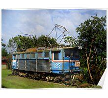 Locomotive in Costa Rica Poster