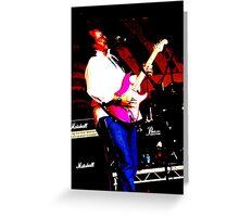 Guitarist 3 Greeting Card