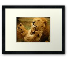 """Dad Time"" Framed Print"