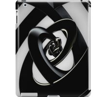 Intersection of 3-D Spirals iPad Case/Skin