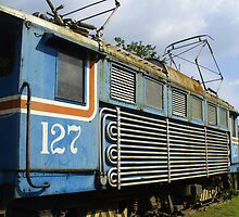Locomotive in Costa Rica by Guy C. André Tschiderer