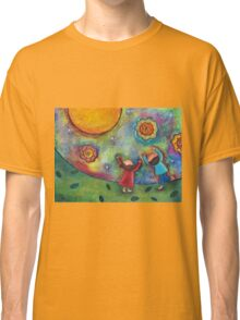 Children and the Moon  Classic T-Shirt
