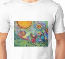 Children and the Moon  Unisex T-Shirt