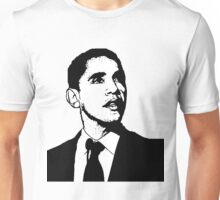 Barack Obama Black and White Suit Unisex T-Shirt