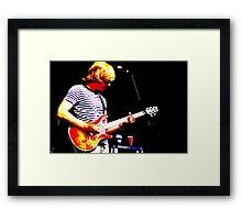Guitarist 5 Framed Print