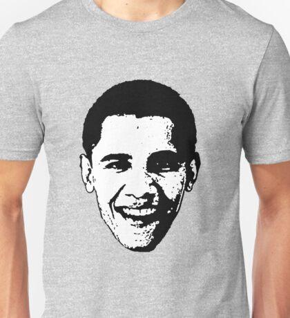 Barack Obama Black and White  Unisex T-Shirt