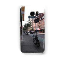 Bike on The Corner  Samsung Galaxy Case/Skin