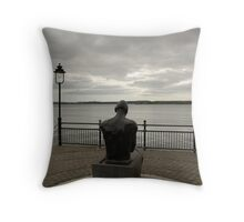 A View From Cobh Throw Pillow