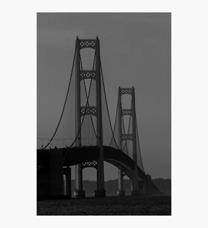 Misty Mackinac Photographic Print