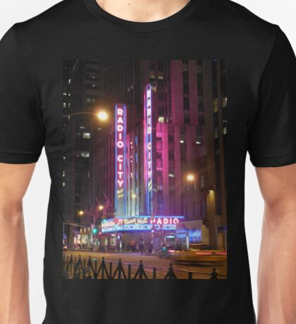 Radio City Music Hall Unisex T-Shirt