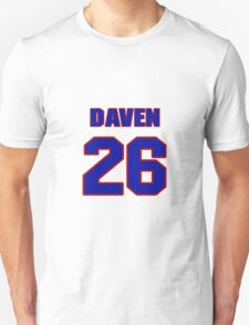 National football player Daven Holly jersey 26 T-Shirt